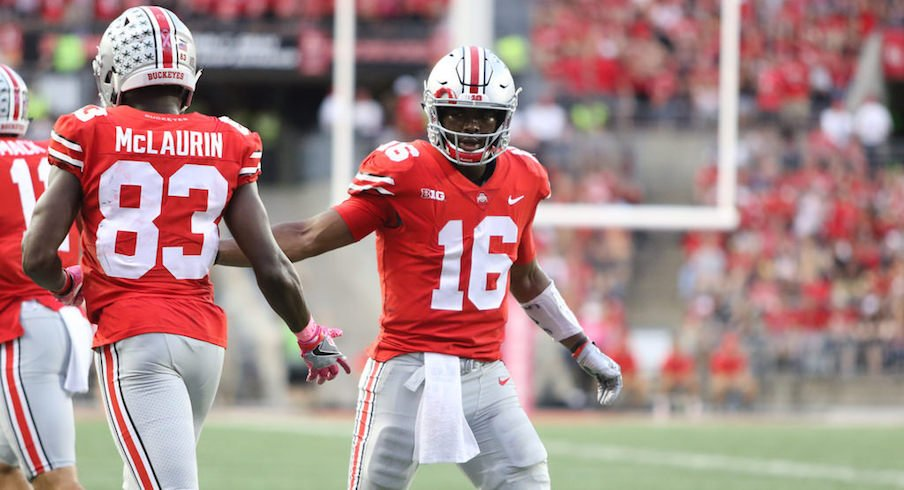 J.T. Barrett led Ohio State to victory once again on Saturday.