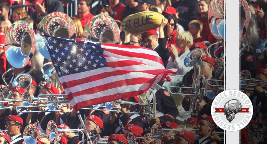 Ohio State band parties for the October 11, 2017 Skull Session
