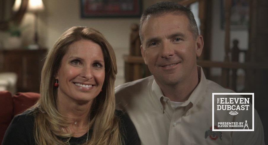 Shelley Meyer and her husband, Ohio State football head coach Urban Meyer