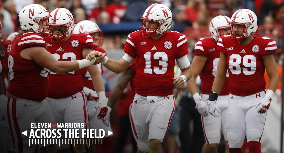 Tanner Lee (13) and the Nebraska Cornhuskers host Ohio State in Lincoln on Saturday.