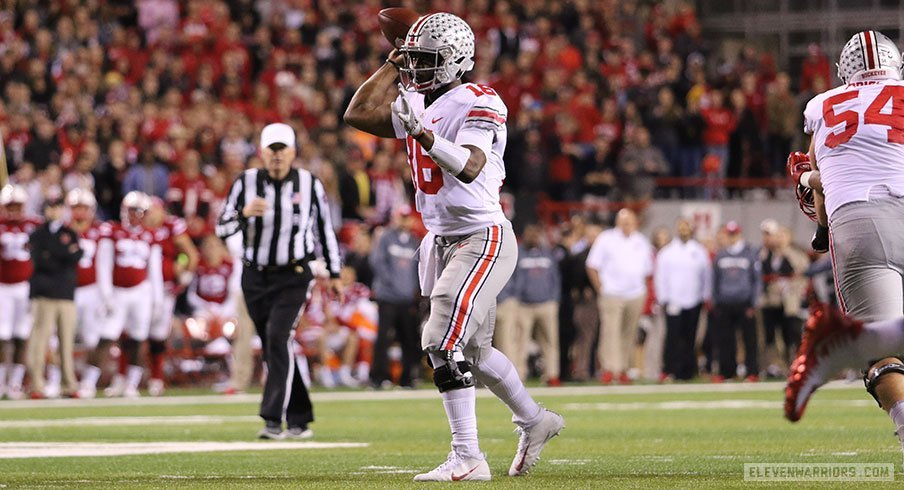 J.T. Barrett messed around and amassed seven touchdowns in a thrashing of Nebraska.