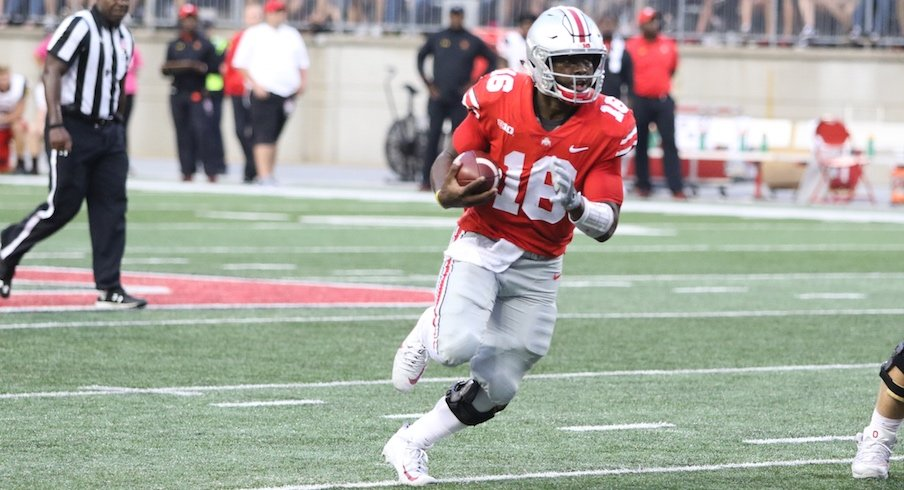 Five straight big games by Ohio State quarterback J.T. Barrett have thrust him into the Heisman Trophy conversation.