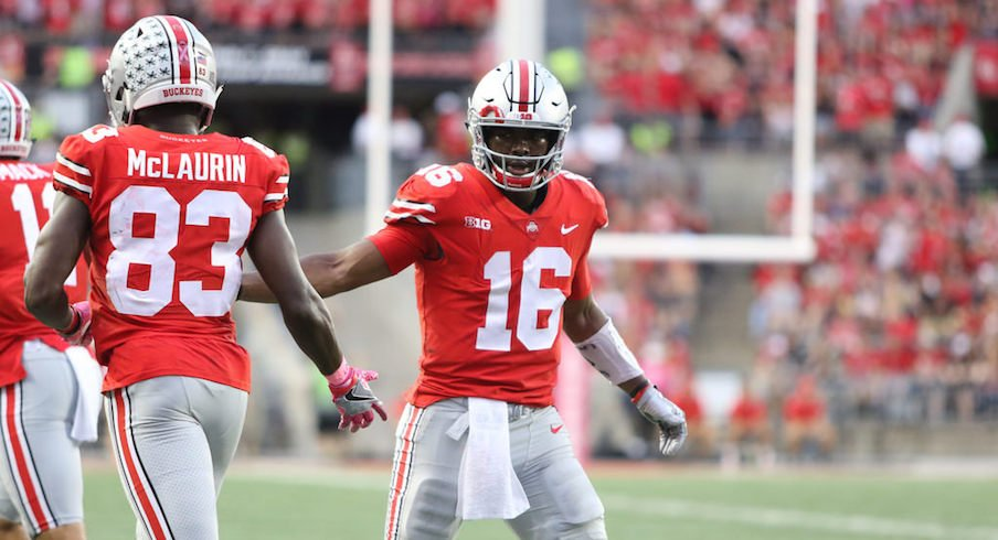 J.T. Barrett and the offense has been clicking.