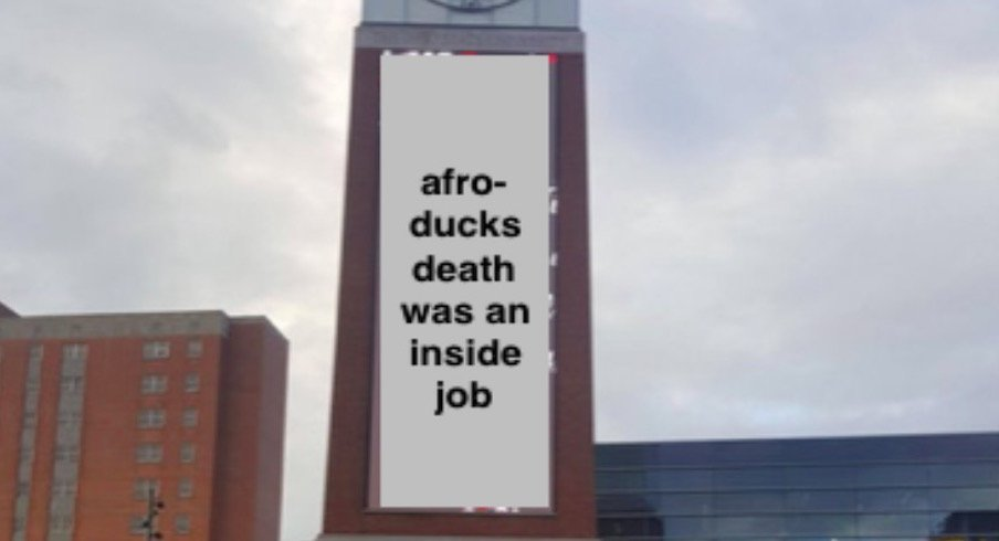 Tom W. Davis Clock Tower: Afro Duck Was an Inside Job