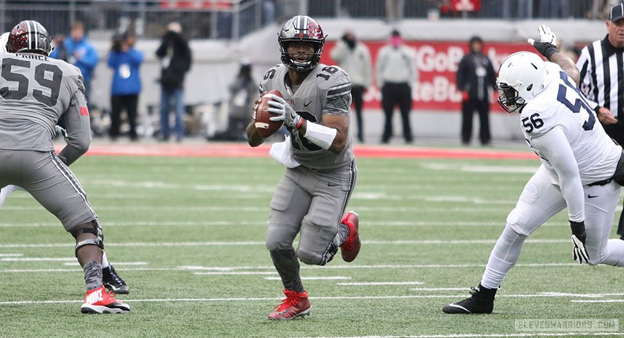 J.T. Barrett went off for 423 total yards and four touchdowns against Penn State.