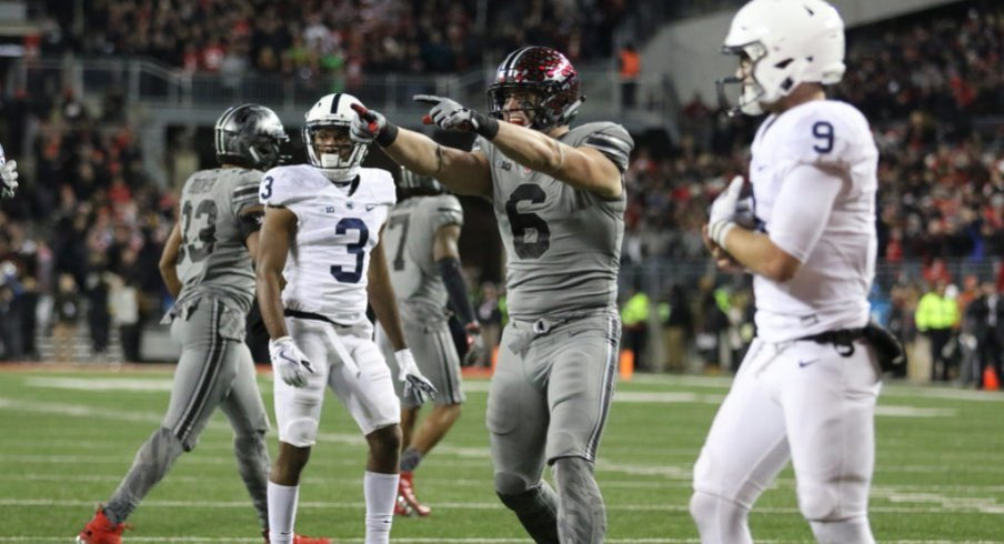 Sam Hubbard and his defensive line mates gave Penn State more than it could handle.