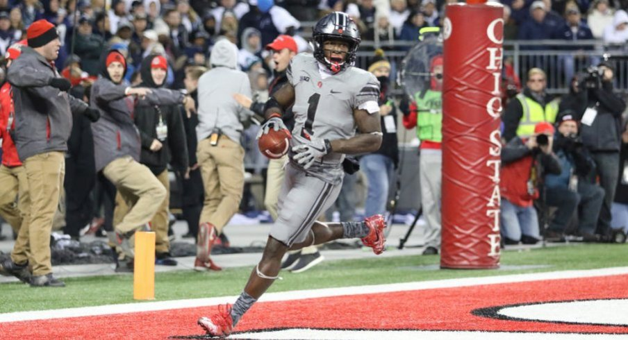 Johnnie Dixon leads Ohio State with 25.5 yards per catch and six receiving touchdowns.