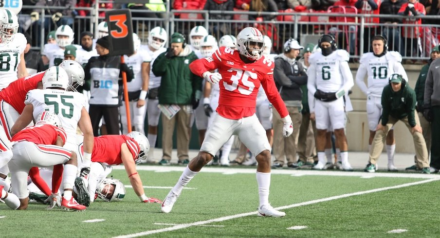 Chris Worley and the Buckeyes made a statement on Saturday.