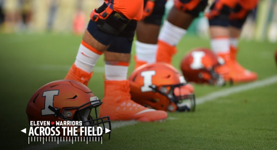 Illinois is still looking for its first conference win of the year entering Saturday's game at Ohio State.
