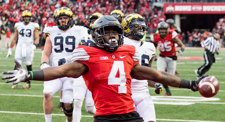 Curtis Samuel beats Michigan