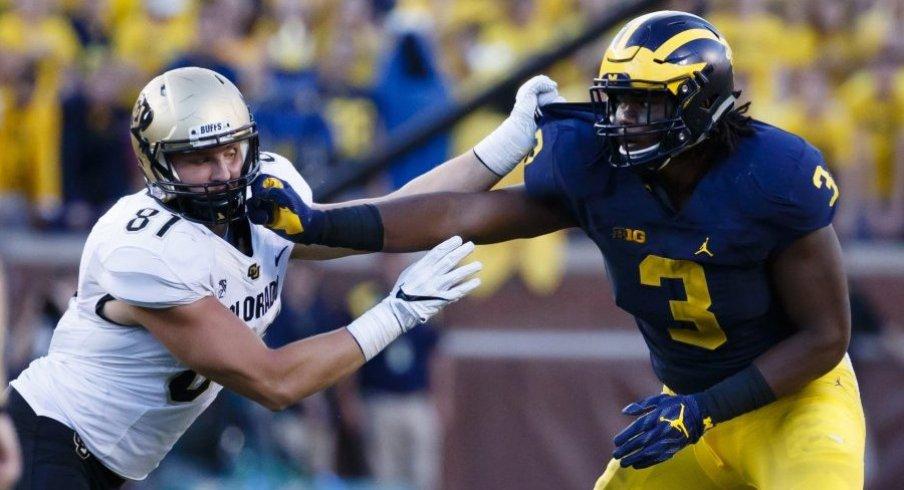 Ohio State's offensive line must contain Michigan's Rashan Gary