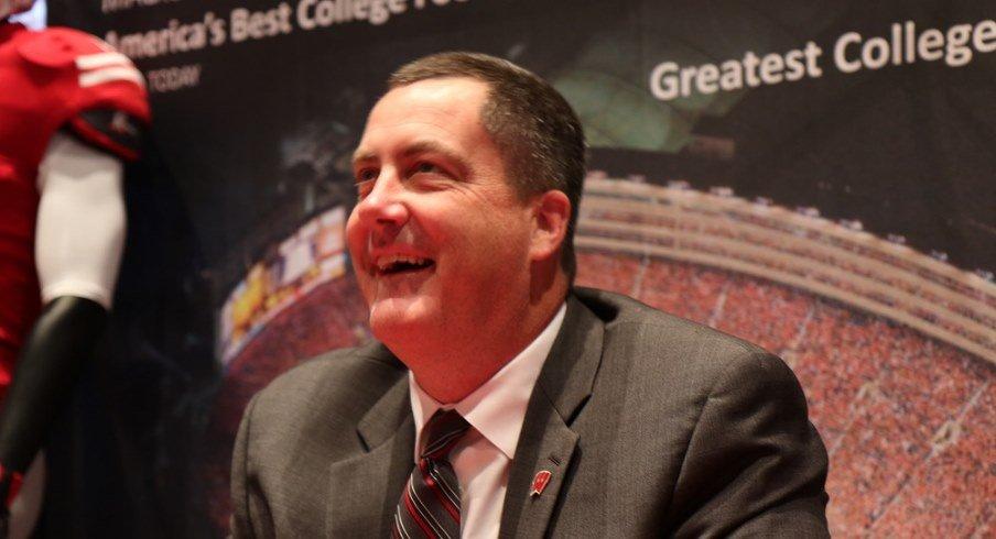 Wisconsin head football coach Paul Chryst