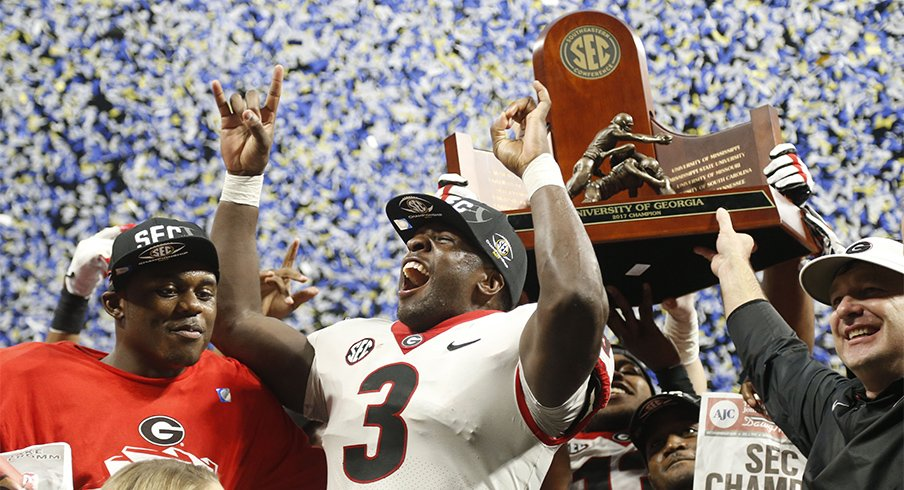 Georgia Got Its Revenge On Auburn Solidifying A Spot In The College Football Playoff
