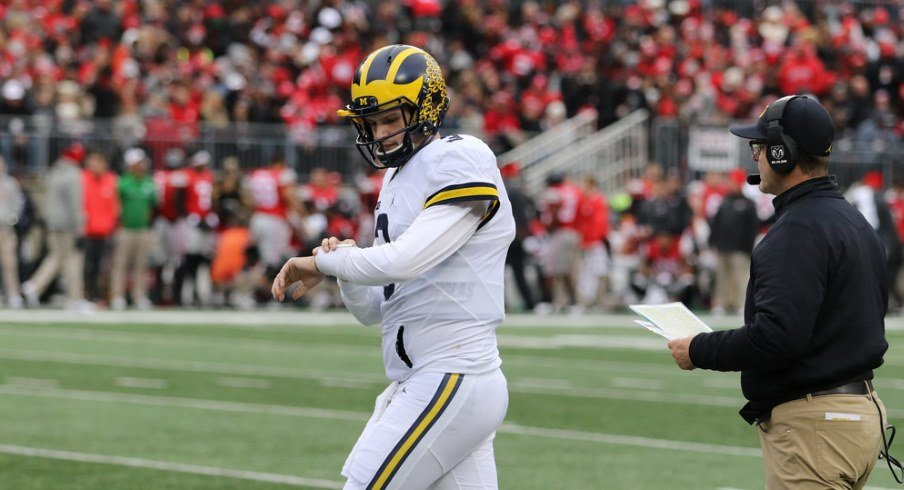 Former Michigan quarterback Wilton Speight