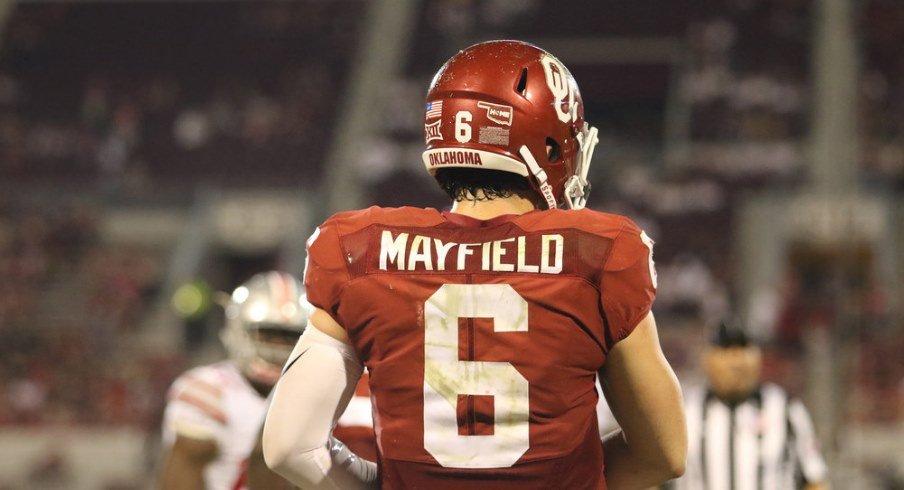 Oklahoma quarterback Baker Mayfield