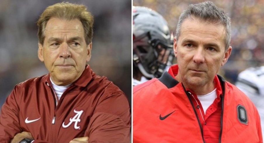 comparing the resumes of ohio state and alabama with the final