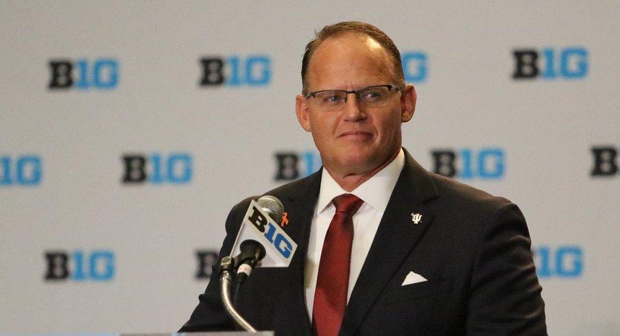 Indiana head football coach Tom Allen
