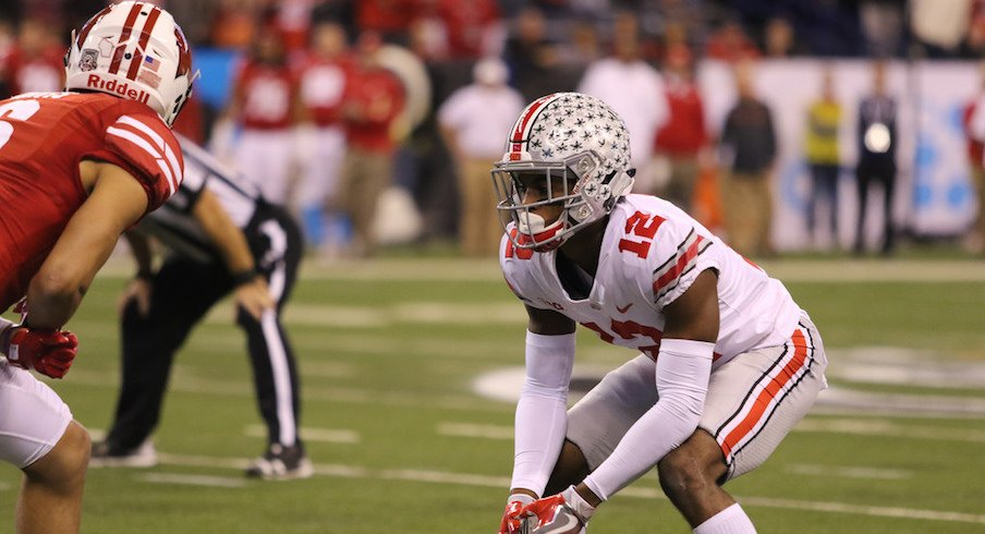 Denzel Ward was one of four Buckeyes defenders to play at least 74 snaps in the Big Ten Championship Game.