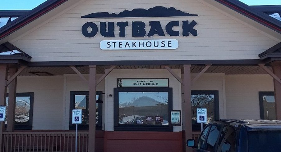 The Outback Steakhouse in Troy, Ohio, USA