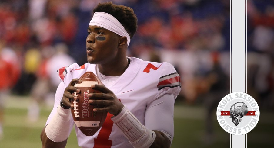 Dwayne Haskins prepares to rip the January 11th 2017 Skull Session