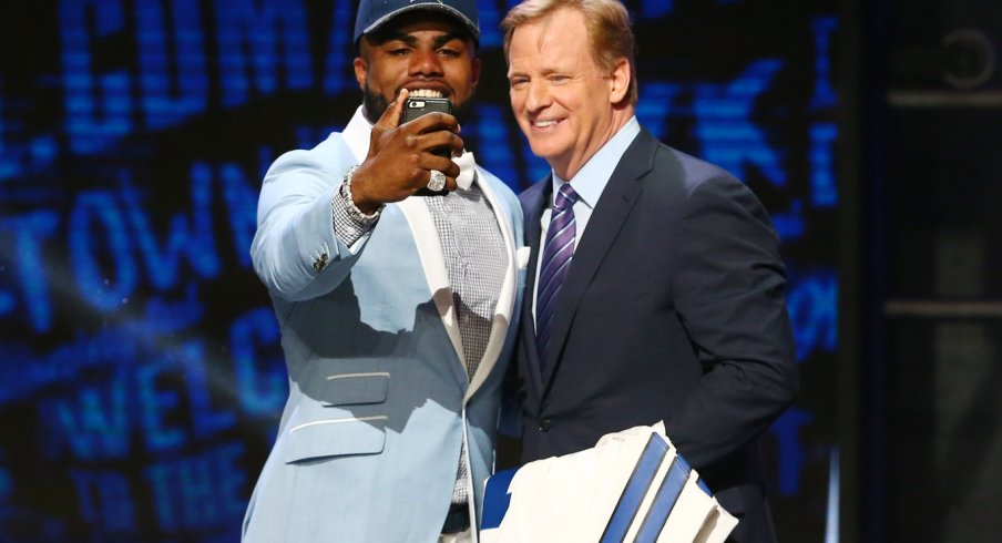 Ezekiel Elliott draft