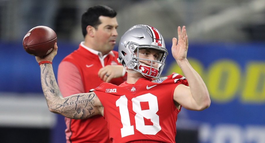 Tate Martell could have played in 2017 under the proposed new redshirt rule.