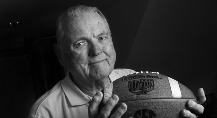 RIP Keith Jackson. (Photo: Mel Melcon / Los Angeles Times)