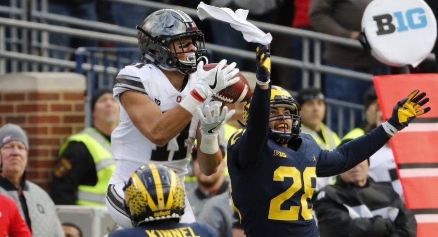 Austin Mack's 33-yard grab against Michigan may have been Ohio State's catch of the year.