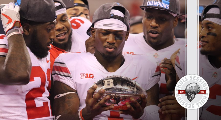 Johnnie Dixon admires the January 22nd 2017 Skull Session