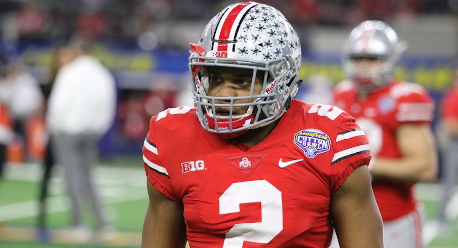 J.K. Dobbins is now the favorite to win the 2018 Heisman trophy.