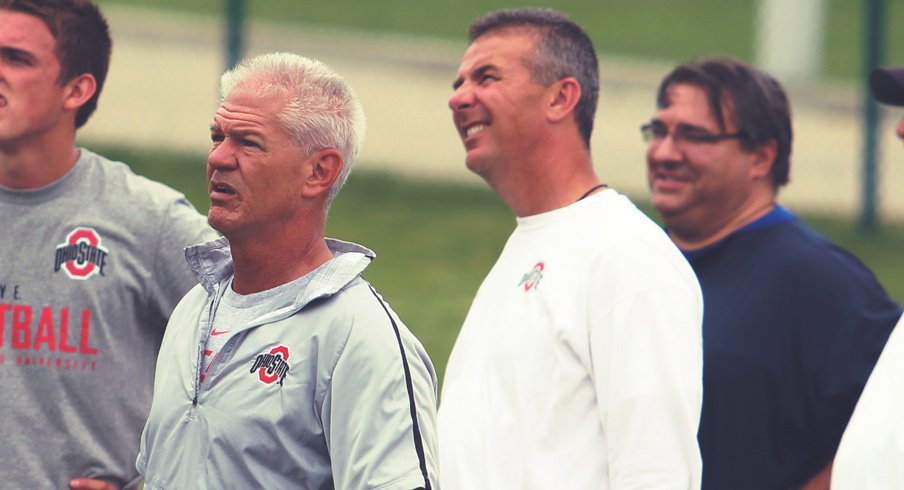 Kerry Coombs and Urban Meyer