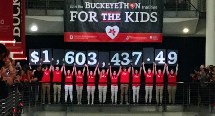 Buckeyethon Raises 1.6 million for cancer research