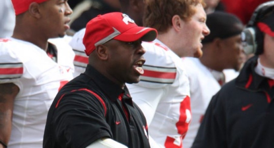 Taver Johnson during his previous stint at Ohio State.