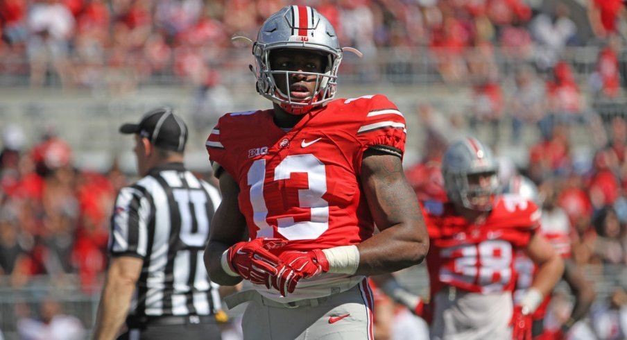 Could Rashod Berry turn out to be a big time pass catcher for Ohio State this season?