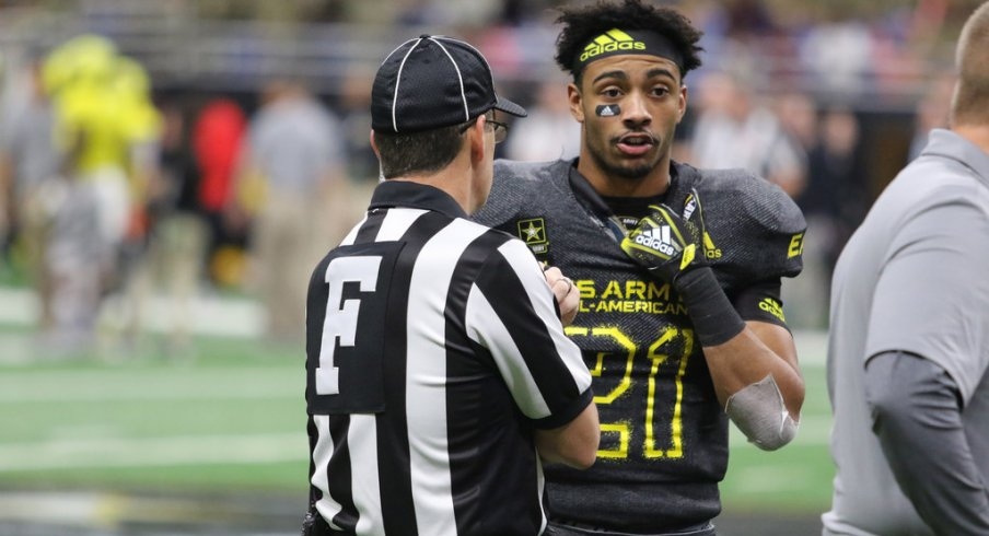 Jaelen Gill at the U.S. Army All-American Bowl