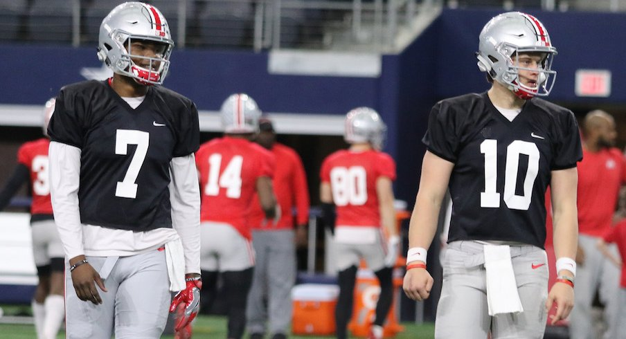 Dwayne Haskins and Joe Burrow