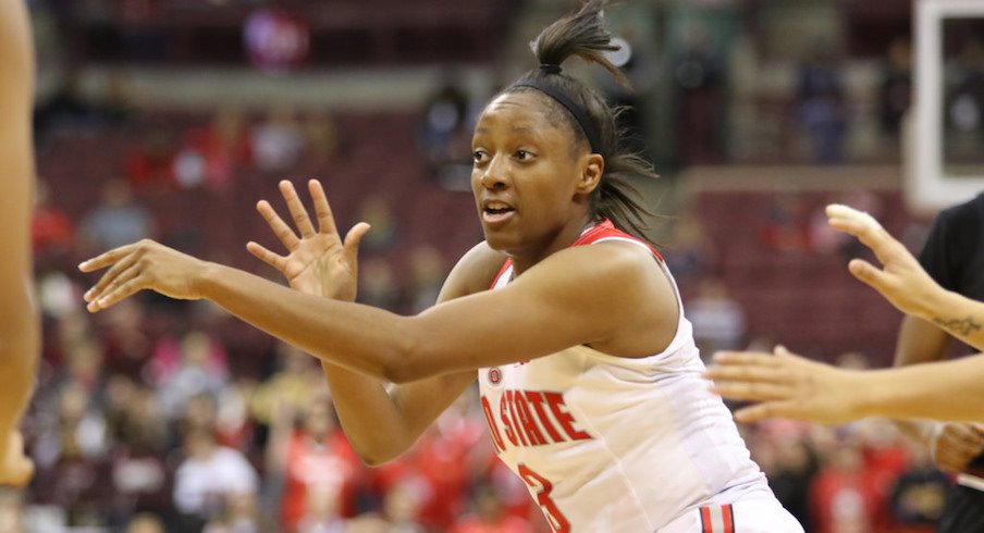 Kelsey Mitchell plays the last regular-season home game of her career.