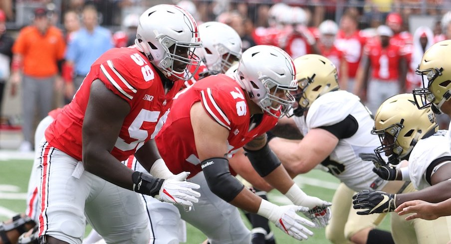brand new 3297d 683d4 Isaiah Prince (59) and Branden Bowen (76) are among Ohio State s returning.  OSU Football
