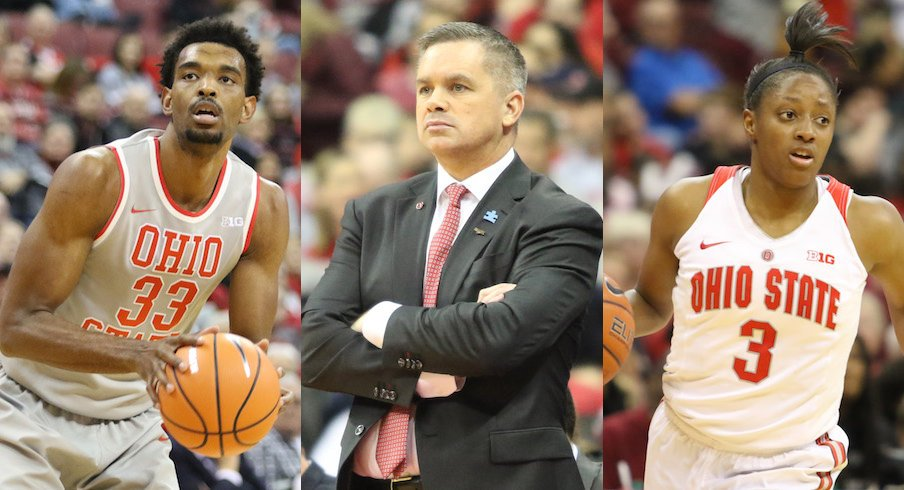 Keita Bates-Diop, Chris Holtmann and Kelsey Mitchell headlined Ohio State's Big Ten Awards.
