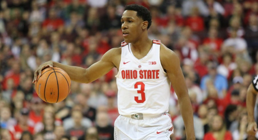 C.J. Jackson's ability to limit turnovers will be crucial to Ohio State's postseason success.