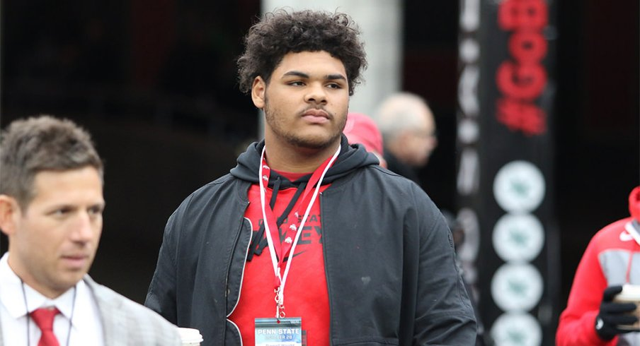 Five-star offensive tackle Darnell Wright may be Ohio State's top offensive line target for 2019.