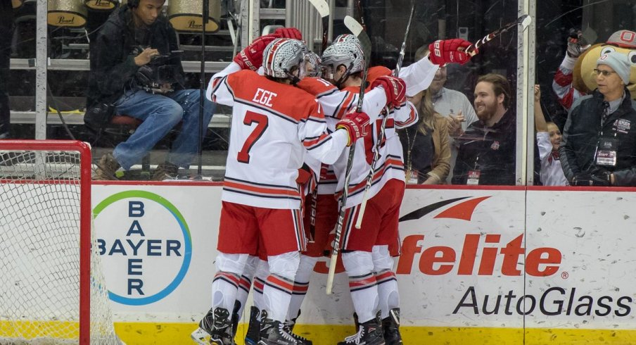 BIG10: Power Play, Big Third Period Leads Buckeyes To Game 1 Win Over Spartans
