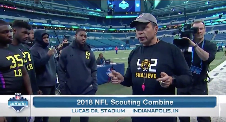 6a3b95129 Ryan Shazier Honored At NFL Scouting Combine