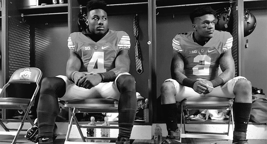 The hype was very real for Curtis Samuel and Dontre Wilson.