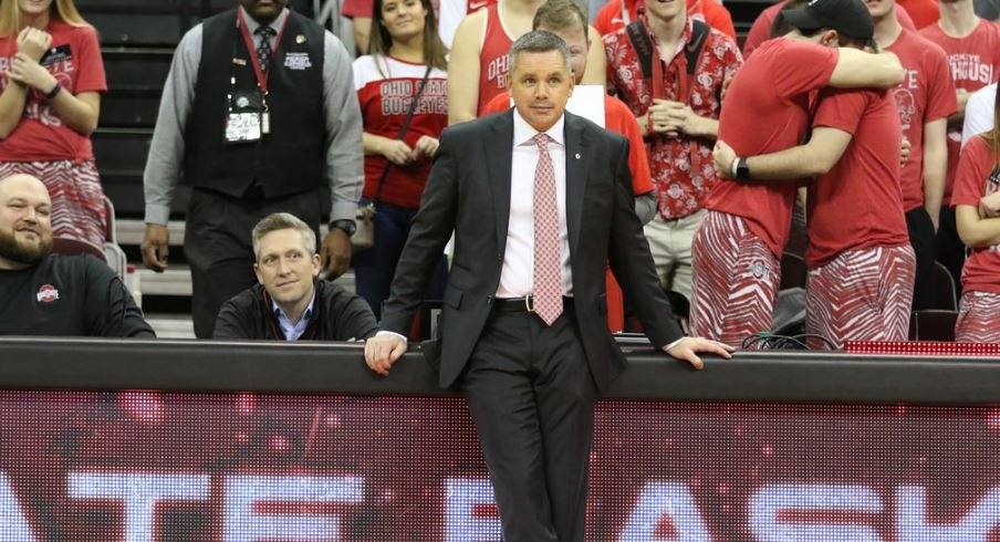Ohio State men's basketball head coach Chris Holtmann