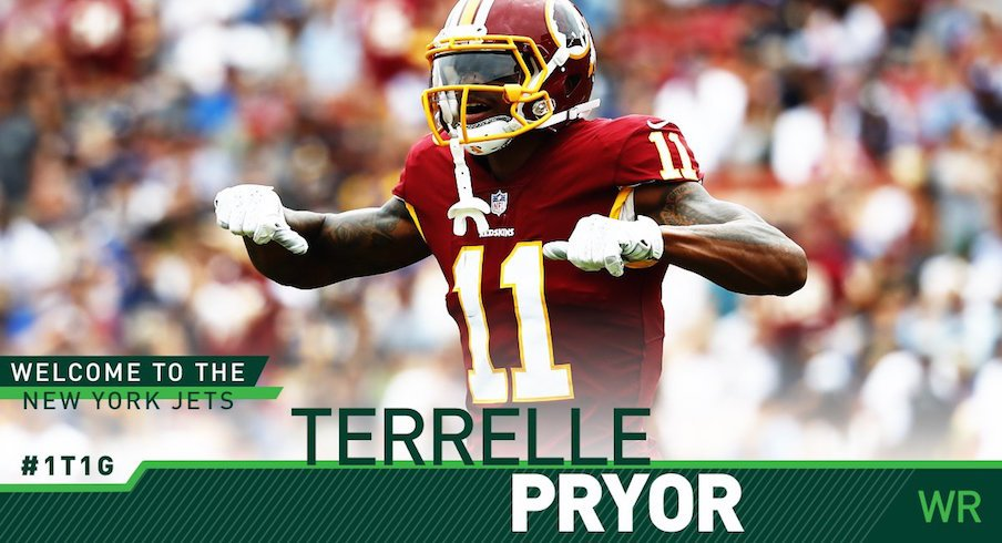 d161199fcb1 New York Jets Officially Sign Terrelle Pryor | Eleven Warriors