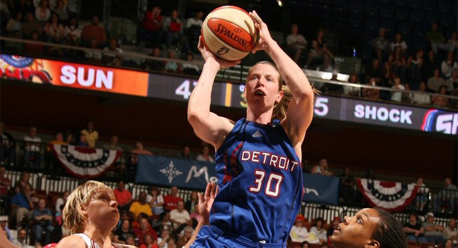 Katie Smith was inducted into the Naismith Hall of Fame on Saturday.