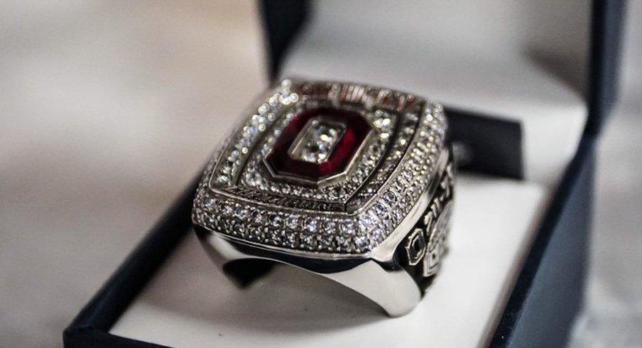 Ohio State B1G championship rings