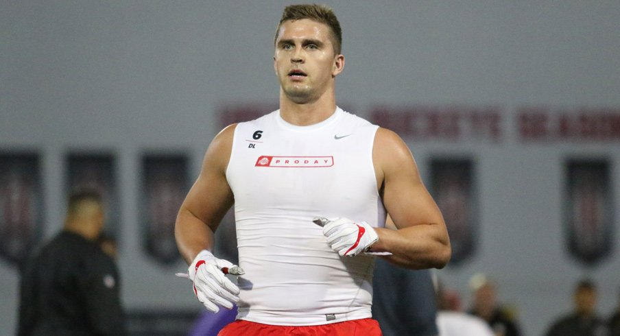 Sam Hubbard and Elijaah Goins Named to NFF Hampshire Honor Society | Eleven Warriors