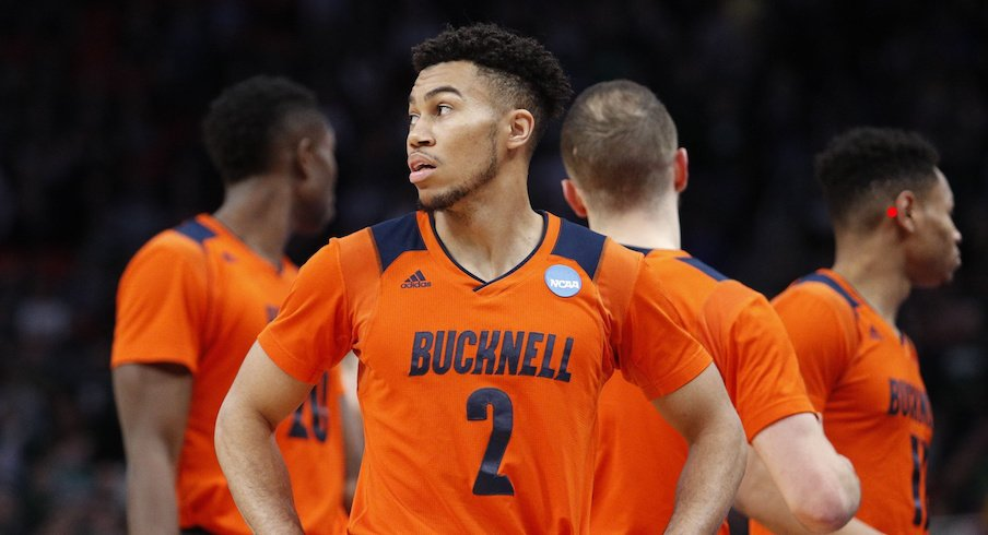 Bucknell guard Stephen Brown